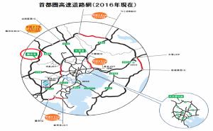 首都圏高速道路網